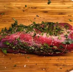 Roast beef prima della pentola